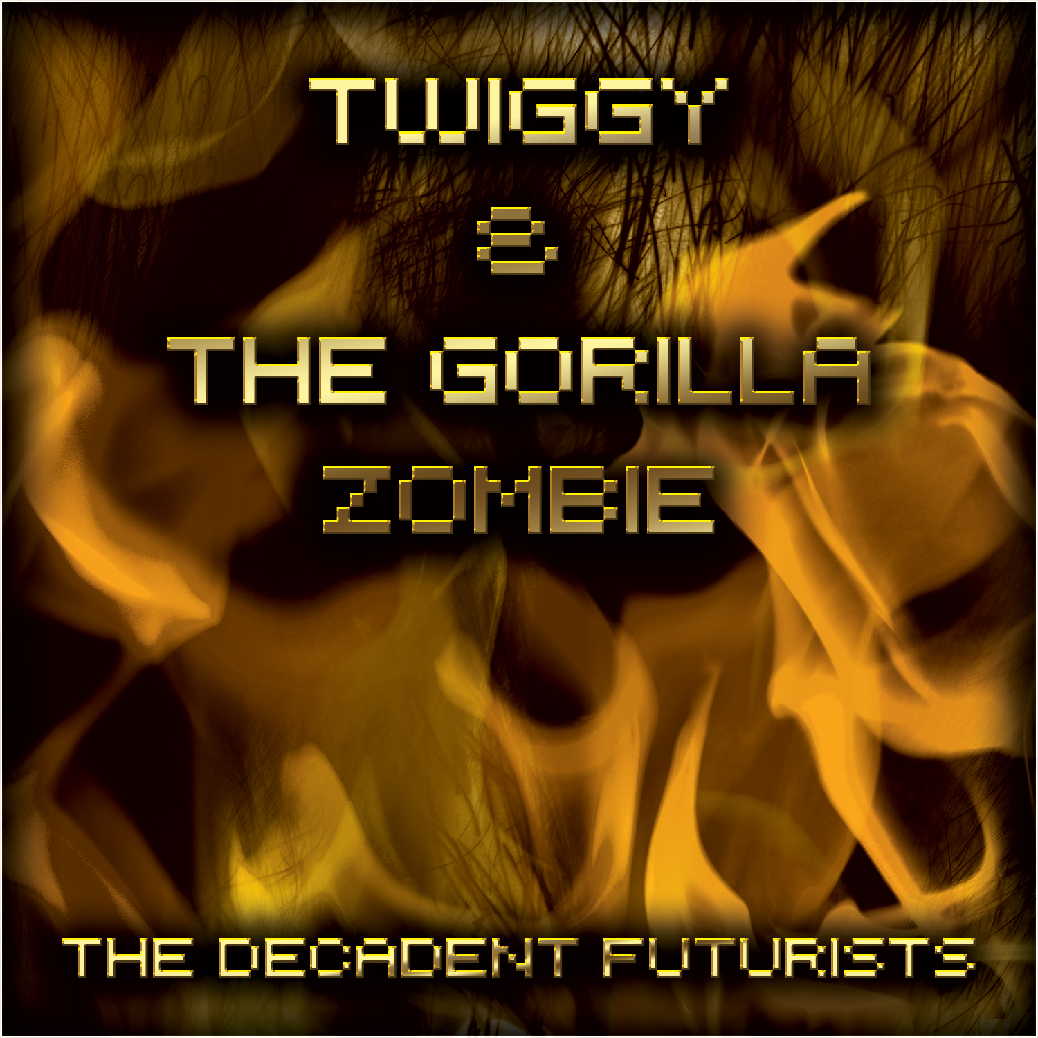 Twiggy and the Gorilla Zombie
